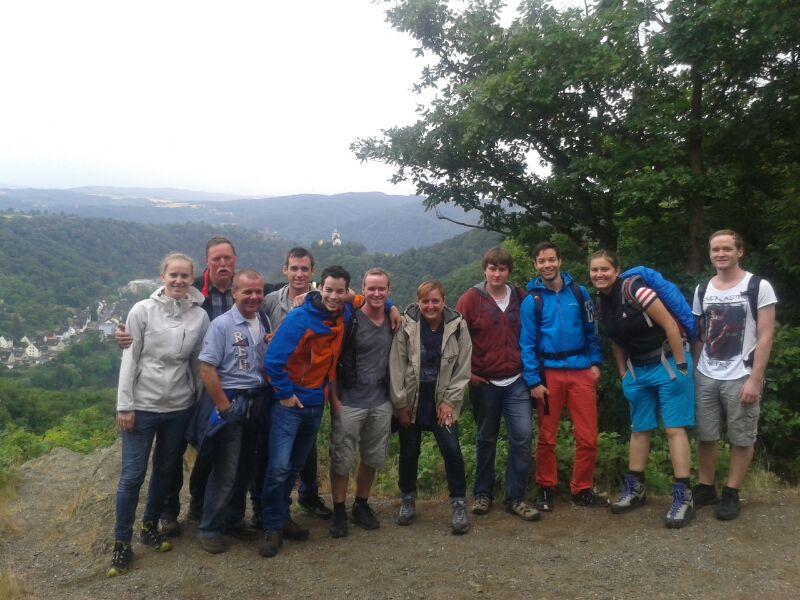 Wanderung Ruppertsklamm 2014 (1)